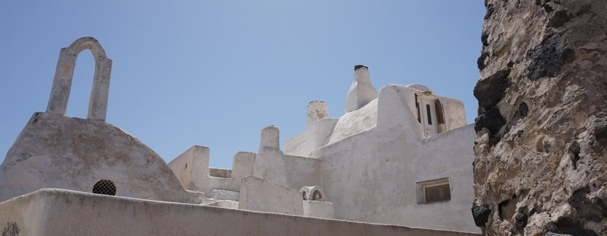 The medieval village of Pyrgos